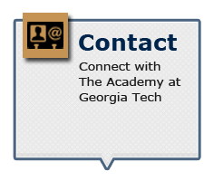 Connect with The Academy at Georgia Tech