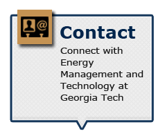 Connect with Energy Management and Technology at Georgia Tech