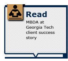 Read MBDA at Georgia Tech client success stories
