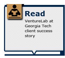 Read VentureLab at Georgia Tech client success story