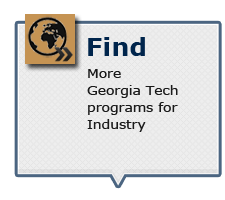 Find more Georgia Tech programs for Industry