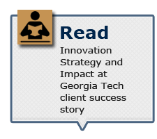 Read Innovation Strategy and Impact at Georgia Tech client success story
