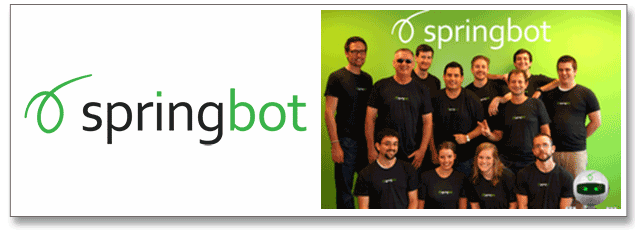 Springbot Logo and Staff