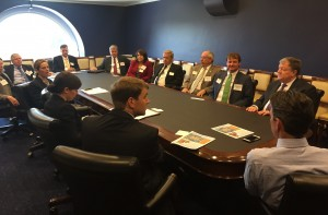 U.S. Rep. Rep. TomGraves meets with Northwest Georgia leaders in Washington, D.C., October 21, 2015