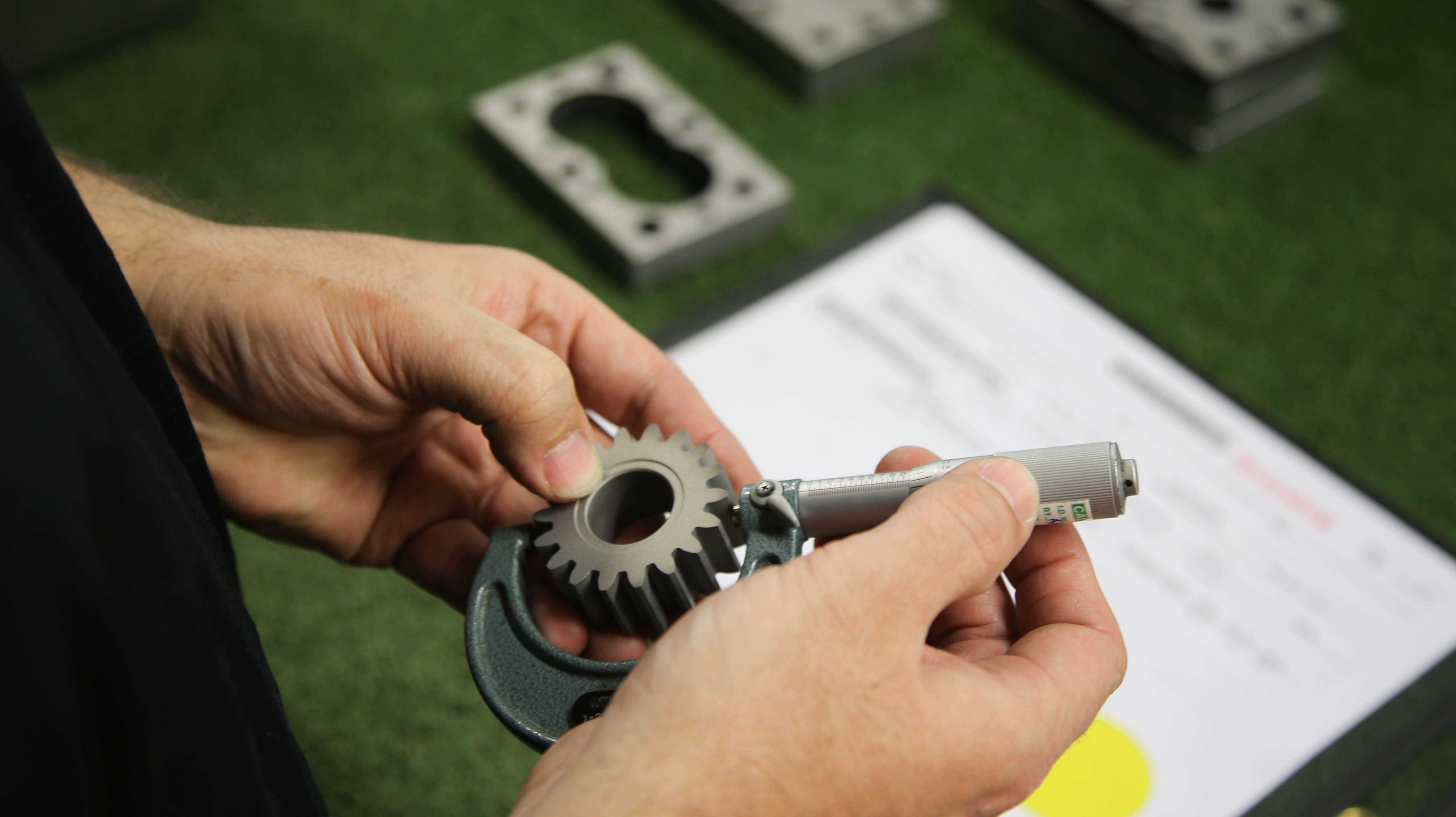manufacturing, parts making