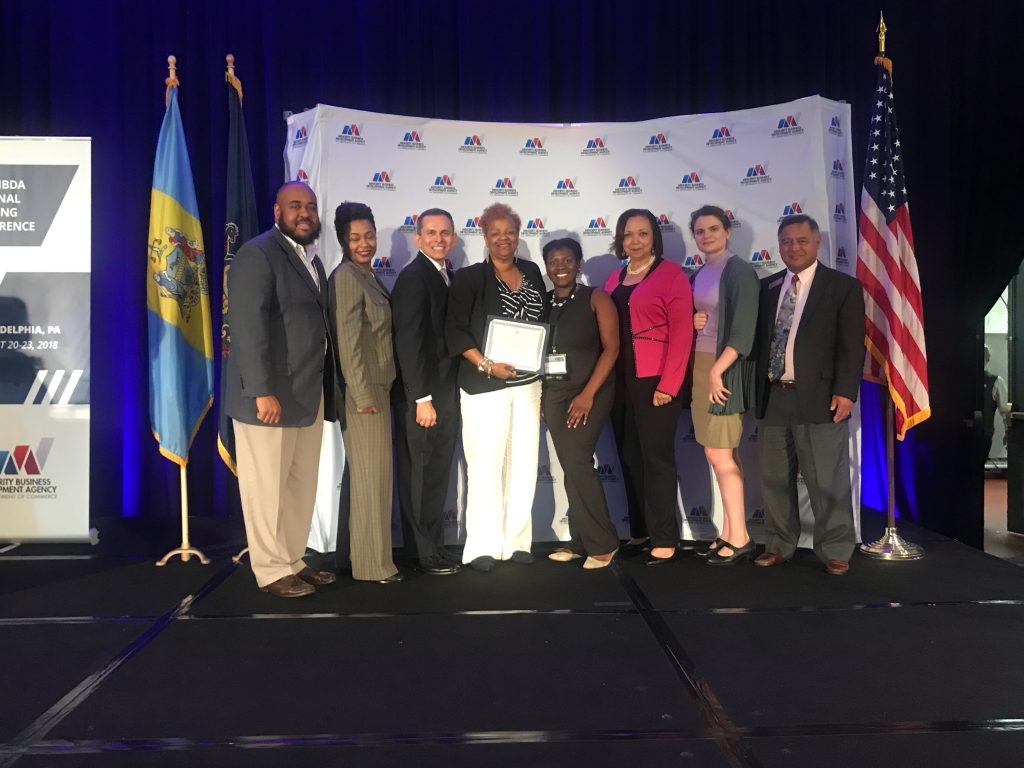MBDA Centers at Georgia Tech win Century Awards