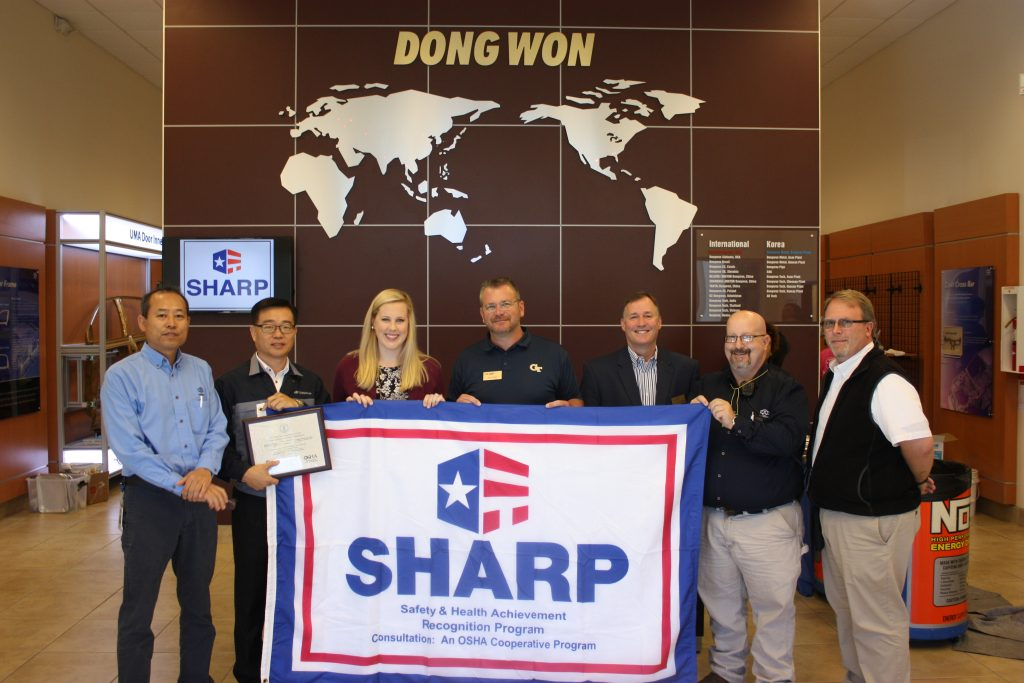 Georgia Tech helps Hogansville auto parts supplier obtain national safety recognition